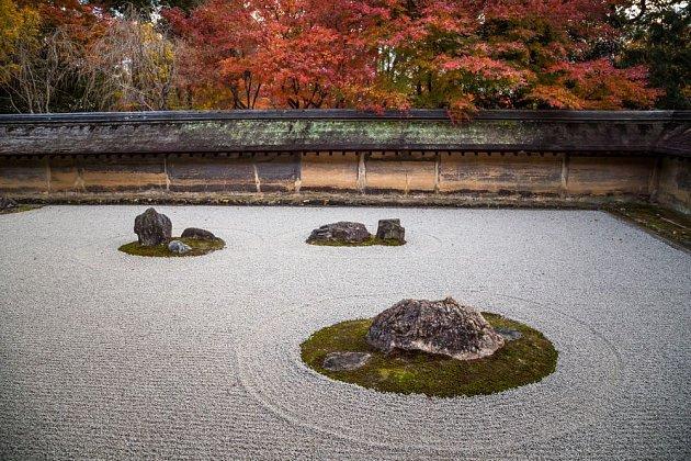Zenová zahrada Ryoan-ji