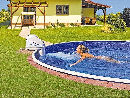 Cena zděných zapuštěných bazénů s protiproudem se pohybuje i kolem čtvrt milionu korun