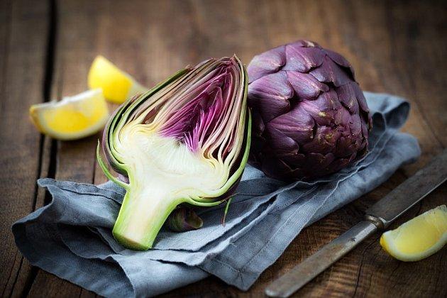 artyčok jako lahůdková zelenina i lék