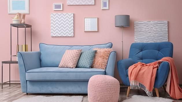 Barvy v interiéru hrají významnou roli.