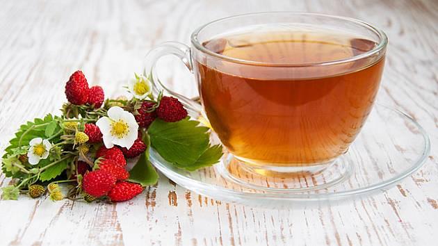 Z listů lesních jahodníků můžete připravit osvěžujícíc čaj