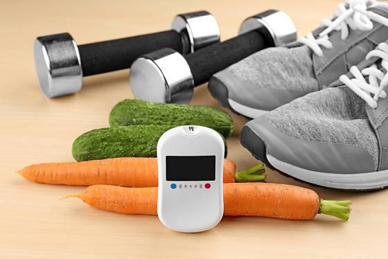 Strava a pohyb jsou pro zvládnutí diabetu zásadní