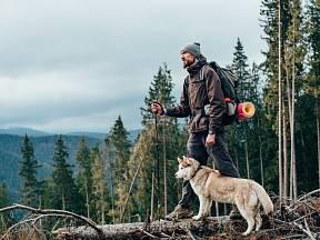 Sibiřský husky je skvělý parťák i na delší výlety.