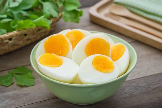 Vařené vejce je klasika