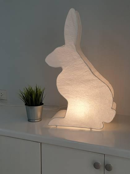 Noční lampička ve tvaru zvířátka se bude dětem jistě líbit.