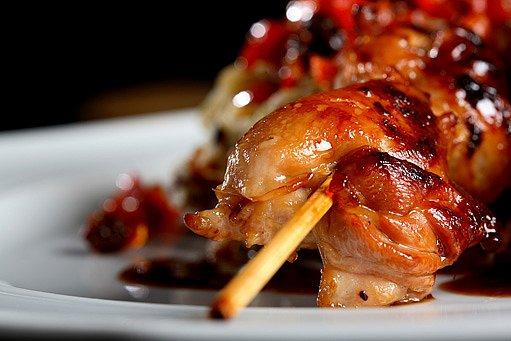 kuře satay