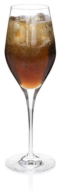 Black Velvet coctail koktejl Guiness sekt šumivé víno