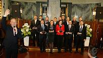 Zástupci vítězných značek získali cenu, za výhru v dané kategorii