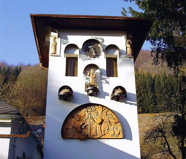 vesnický orloj Kryštofov