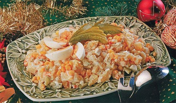 jihomoravský bramborový salát s vínem