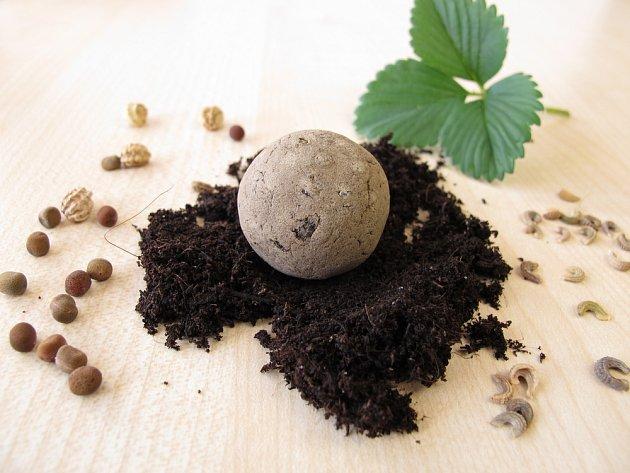 Seed bombs a jejich výrobu spojujeme s guerilla gardeningem.