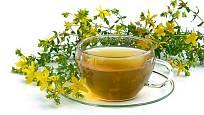 třezalkový čaj