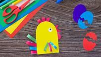 Tohle velikonoční kuře můžete použít i jako dekoraci.