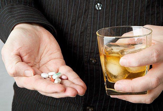 alkohol a léky nejsou dobrá kombinace