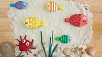 Malované kameny můžeme využít k dalším hrám či tvoření.