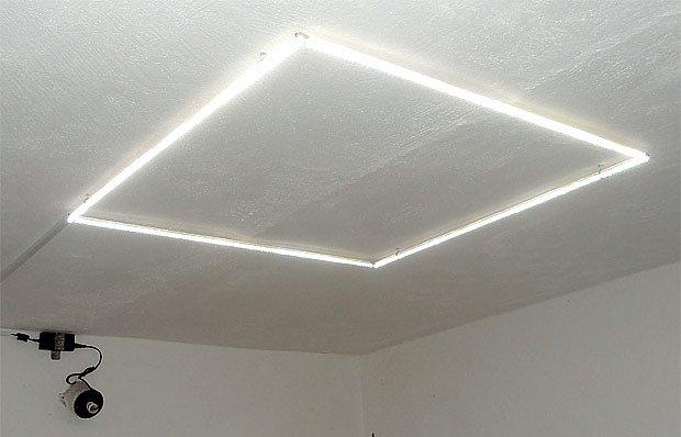 LED světlo do sklepa