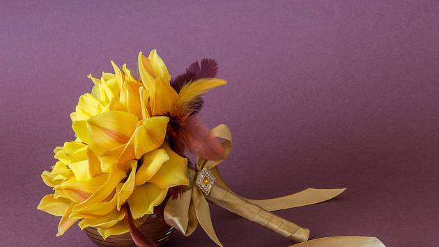 Luxusní květinová výzdoba, to jsou glamélie.
