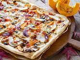 Dýně se hodí i přípravě pizzy