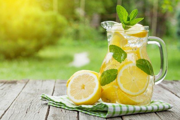 Svěží limonáda