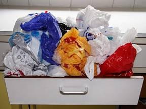 Průměrná spotřeba v EU je kolem 200 igelitových tašek na jednoho člověka za rok.