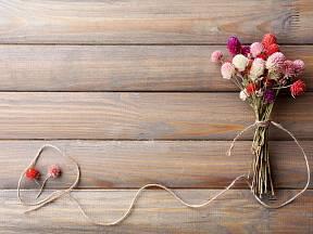 I drobné kytice mohou mít velké kouzlo