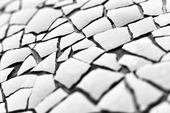 Rozdrcené vaječné skořápky můžeme proměnit v materiál na tvorbu mozaiky.