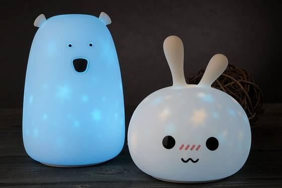 Lampičky do dětského pokoje mohou mít roztodivné tvary.