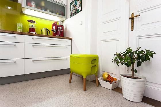 Vermikompostér Urbalive vám umožní kompostování kuchyňského odpadu.