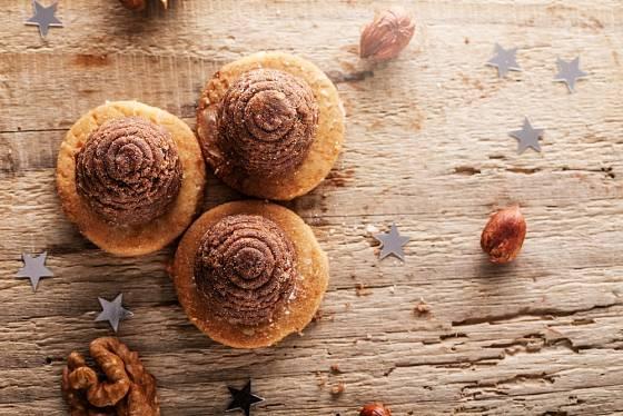 Místo piškot na podložení můžete použít i sušenky
