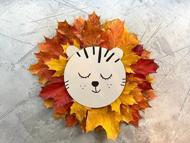 Podzimního lva si děti zamilují