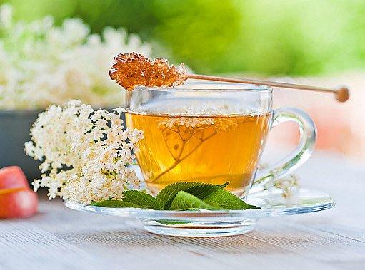 čaj z bezového květu