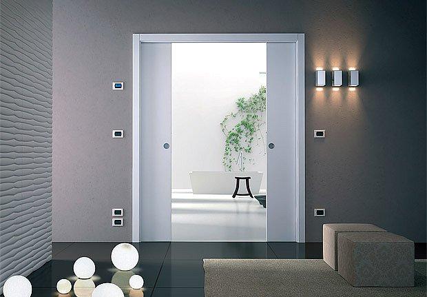 posuvné dveře - dvoukřídlé