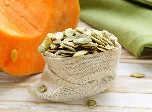 Dýňová semena jsou přirozeným zdrojem zinku a dalších mienrálů