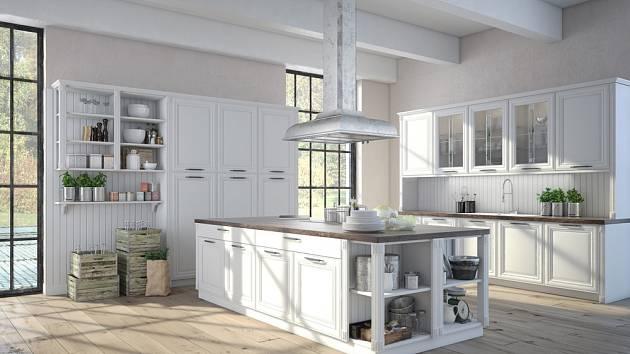 Venkovská a tak trochu i romantická kuchyně může být tou pravou volbou i pro vás.