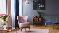 Romanticky laděný interiér