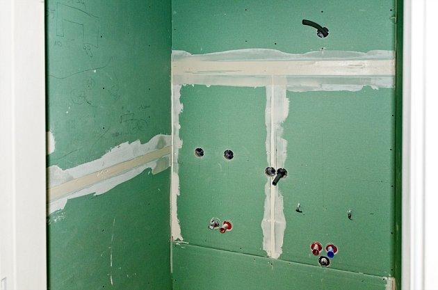 Zelené desky  jsou určeny do místností se zvýšenou vzdušnou vlhkostí