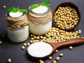 Domácí sójový jogurt zpestří jídelníček.