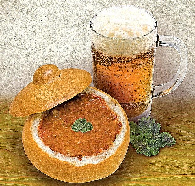 Staročeská pivní polévka