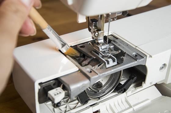 Dobrá péče o šicí stroj prodlužuje jeho životnost.