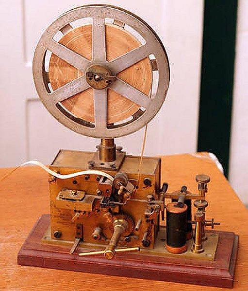 telegrafní přístroj