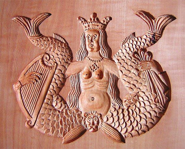 Pozoruhodná mořská panna vymykající se obvyklým zpodobněním
