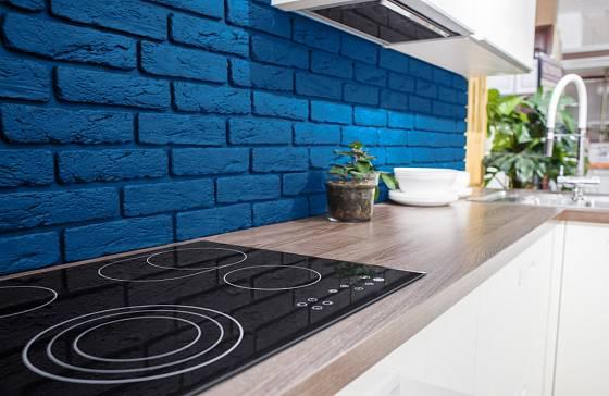 Módní odstín použitý v kuchyni
