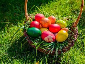 U barvení vajec je důležitá jak příprava, tak i samotný proces schnutí