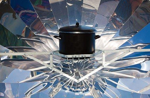 sluneční vařič