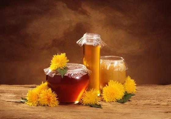Pampeliškový med.