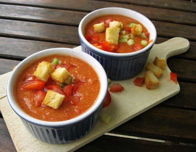 Španělská polévka Gazpacho