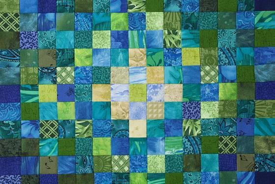 Vzory pro patchwork mohou být naprosto jednoduché, ale i velmi složité.
