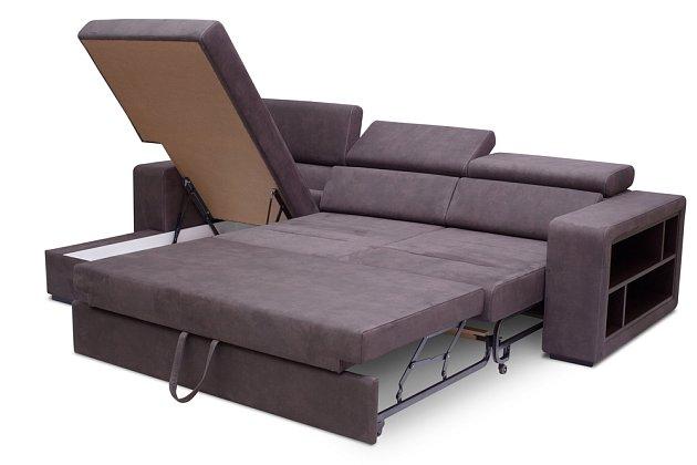 Rozkládací nebo modulové sedačky jsou ideální do větších prostor.