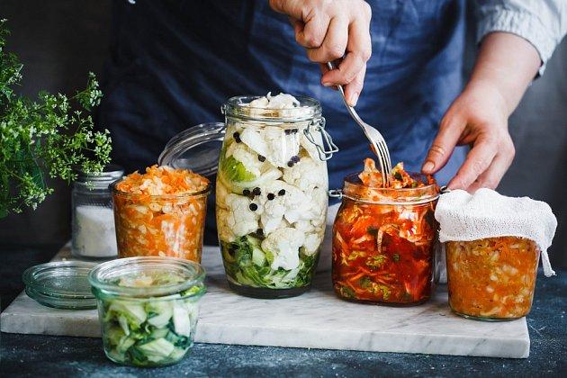 Kvašená zelenina. Zužitkujte úrodu na maximum.