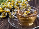 Heřmánkový čaj pomůže při nachlazení, bolesti i špatném trávení